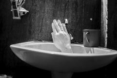 Gouri Mounir - La main blanche