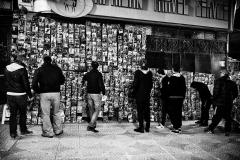 Krache Youcef / marchand de DVD rue d'Alger 2016