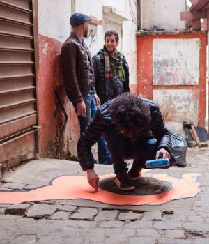 En image la Journée de la Casbah (Alger) le 25 fév 2017 organisée par l'Atelier N.A.S