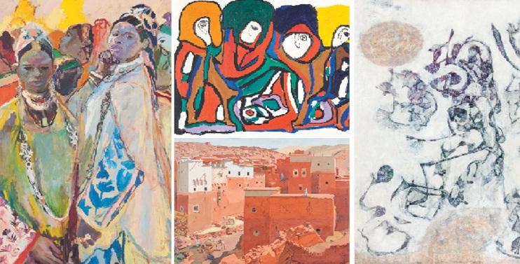 CMOOA : Vente aux enchères, les années 60 à l'honneur le 22 déc 2016 à Casablanca, Maroc