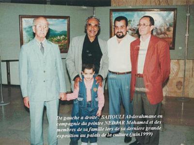 Abderrahmane Sahouli, Algérie (1915-2011)
