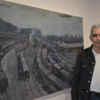 "Briki Amar expose ""Fragments intimes"" à Seen Galery du 14 avril au 4 mai"