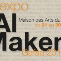 Al MAKEN expose La Maison des Arts du Belvédère (Tunis) du 21 au 30 avril