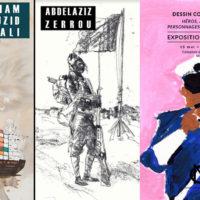 Expo Abdelaziz Zerrou, Mariam Abouzid Souali et 'Héros & Antihéros' du 15 mai au 11 juin à Marrakech