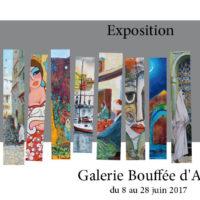 Art figuratif à la galerie Bouffée d'Art du 8 au 29 juin 2017 (Résidence Sahraoui, Alger)