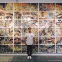 «Ligne de Vie» Hom Nguyen expose à l'espace Montresso, Marrakech (Maroc)