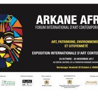 3ème Édition ARKANE AFRIKAà Casablanca du 20 oct au 20 Nov