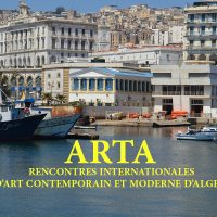ARTA : Rencontres Internationales d'Art Contemporain et Moderne d'Alger du 26 au 30 oct