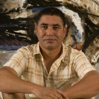 El Kahfaï Moulay Youssef expose la galerie Noir sur Blanc, Marrakech (Mar)