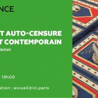 Censure et auto-censure dans l'art contemporain à l'Institut des Cultures d'Islam