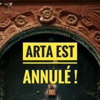 ARTA annulé : communiqué