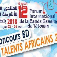 Talents Africains 2018 Concours de Bande Dessinée de Tétouan (Maroc) :