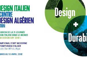 Journée mondiale du design italien, IDD 2018 au MAMA (Alger)