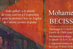 Mohamed BECISSA expose à Aida gallery (Alger)