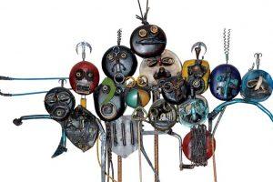 «In-Discipline» expo d'artistes béninois à l'espace CDG, Rabat (Mar)