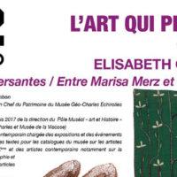 Rencontre au H2/61.26  Elisabeth Chambon : Voix traversantes / Entre Marisa Merz et Violeta Parra