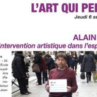 L'INTERVENTION ARTISTIQUE DANS L'ESPACE PUBLIC au H2/61.26, Casa