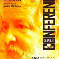 """conférence """" Présence algérienne dans les biennales méditerranéennes de 1989 à 2005 par Karim Sergoua"""