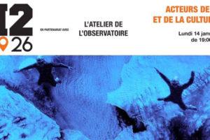 NOUVEAU : ACTEURS DE L'ART ET DE LA CULTURE #1 au H2/61.26 à Casa