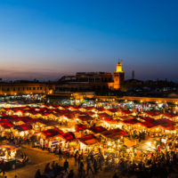 «Musée éphémère : autour des pionniers de l'art marocain», Bank Al Maghrib, place Jamaâ el-Fna, Marrakech (Mar)
