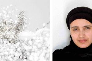 Safaa Erruas expose «Le temps parcouru», jusqu'au 25 février 2019.