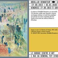 ABDALLAH BENANTEUR, UNE ŒUVRE DE LUMIERE (Peintures, 1953-2003.)