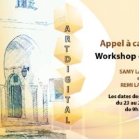 Appel à candidature : Workshop « Art digital »
