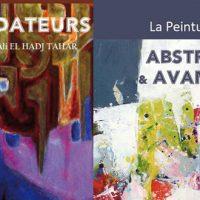 Beaux livres sur la peinture algérienne : « Les fondateurs » & « Abstraction et avant-garde » de Ali El Hadj Tahar aux éditions Alpha.