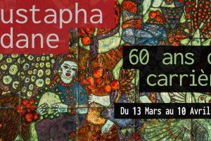 60 ans de création, Mustapha Adane invité de la Galerie Bloom.