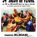 L'artiste Akim Elmam invité d'honneur au 34ème salon de Veigné