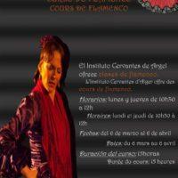 Cours de flamenco à l'institut Cervantès, Alger