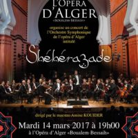 Sheherazade concert de l'Orchestre de l'Opéra d'Alger